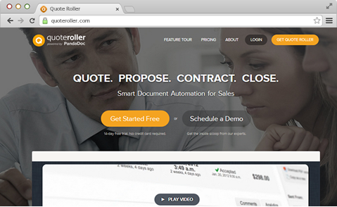 Create Professional Proposals With Quote Roller OnePageCRM Best Quote Roller