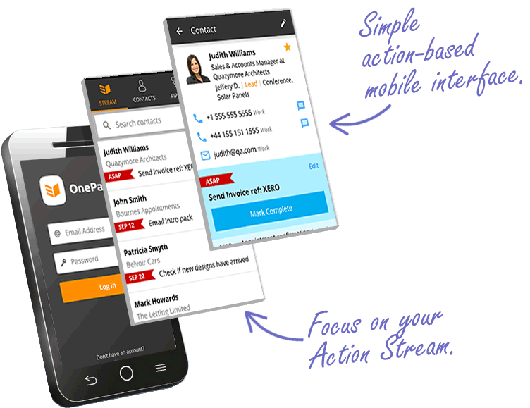 Simple Mobile Interface