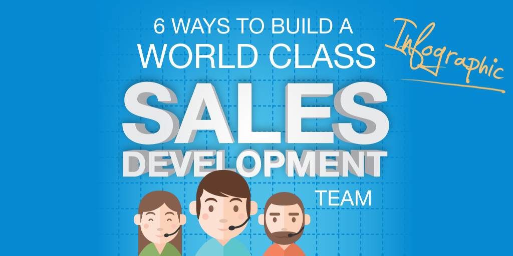 Build a world class sales development (SDR) team