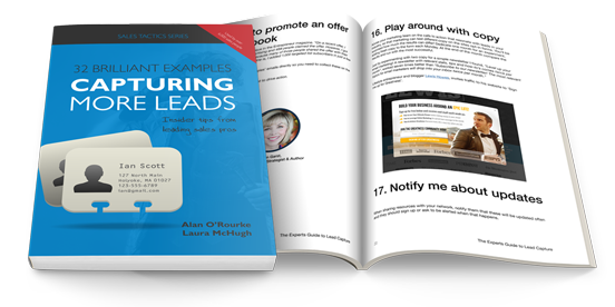 Expert guide to capturing more leads - Book