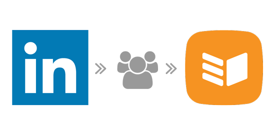 Export linkedin contacts to CRM