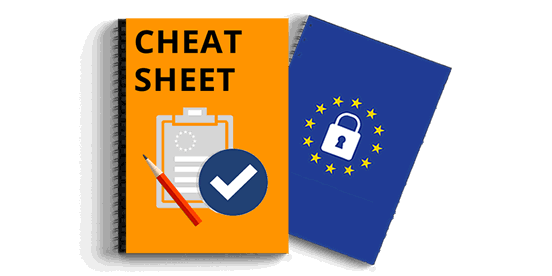 GDPR cheat sheet