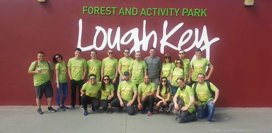 OnePageCRM outing Lough Key