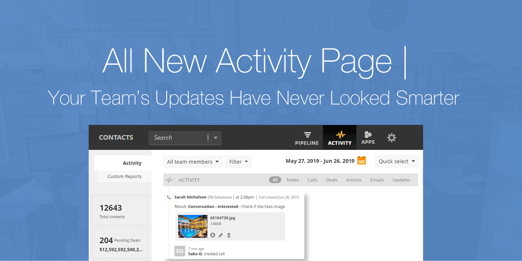 The All New Activity Page | Your Team's Updates Have Never Looked Smarter