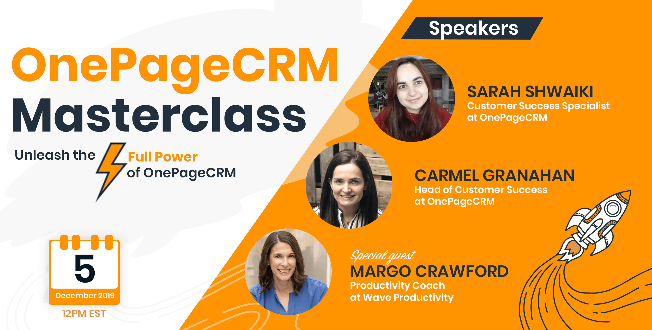 OnePageCRM Masterclass | Unleash the full power of OnePageCRM!