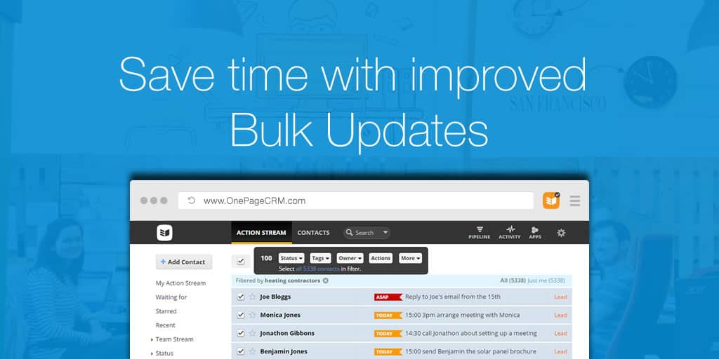 Save time with improved Bulk Updates