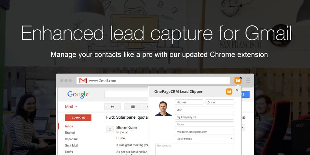 Manage your contacts like a pro with our updated Chrome extension