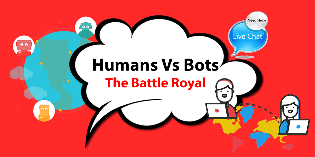 Humans vs Bots: the Battle Royal