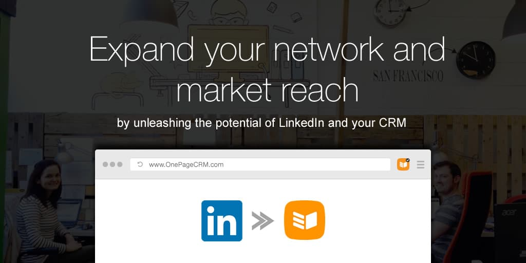 How to export your LinkedIn contacts to a spreadsheet and import them into OnePageCRM