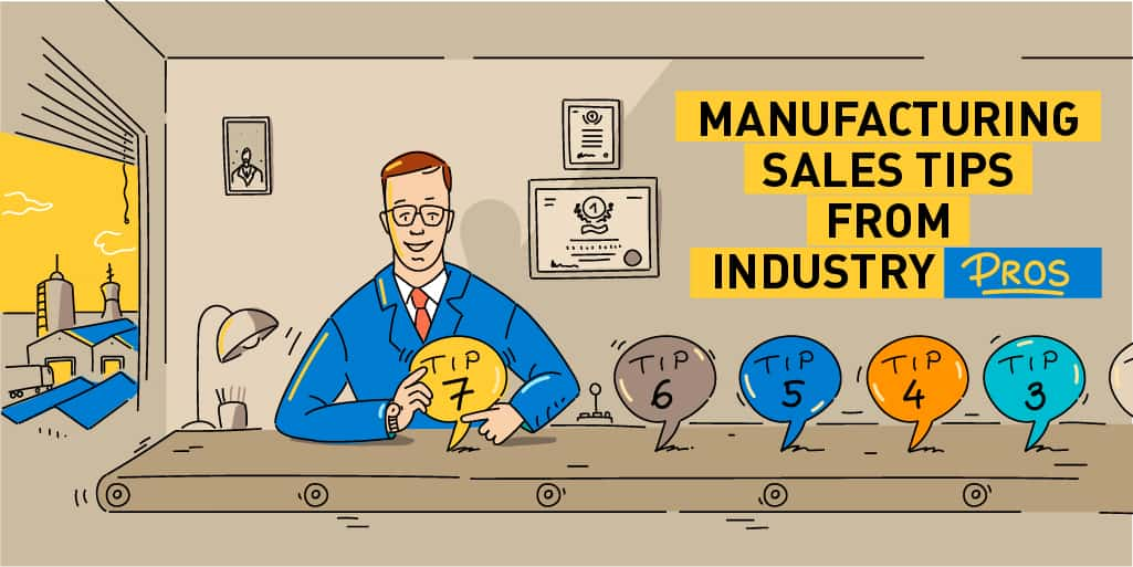 Manufacturing sales tips from OnePageCRM customers