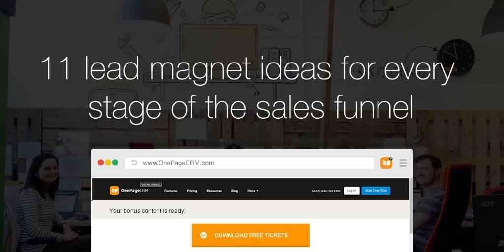 11 lead magnet ideas for every stage of the sales funnel