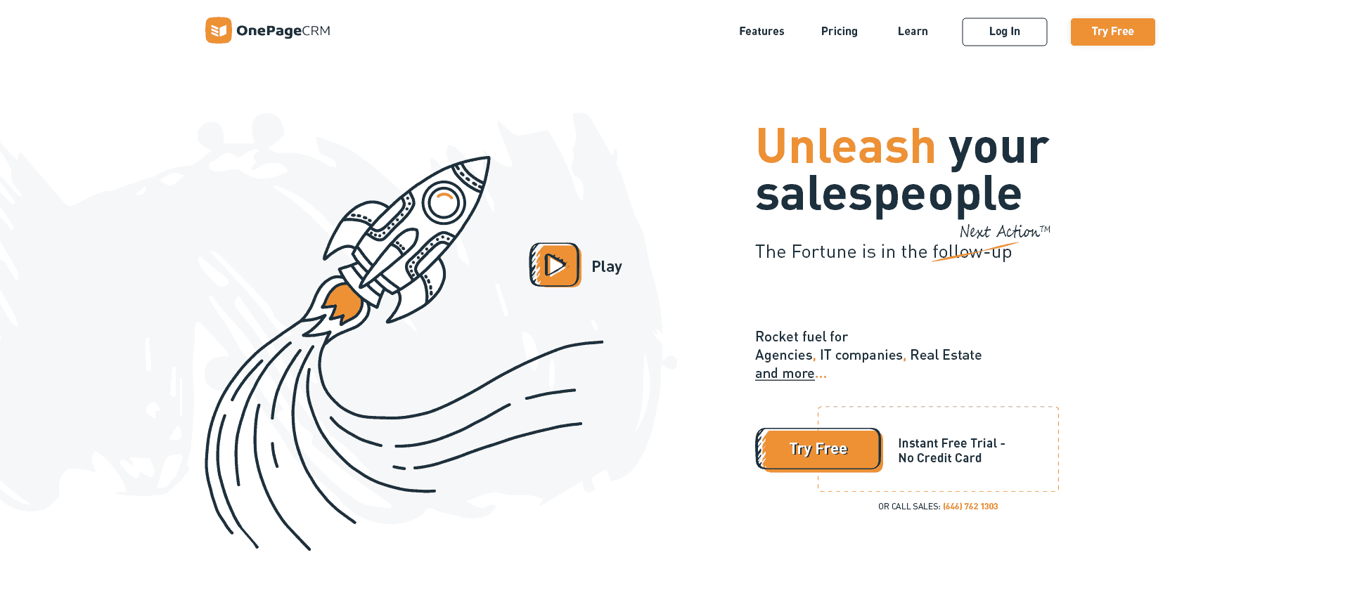 Action-Focused Sales CRM for SMBs - OnePageCRM