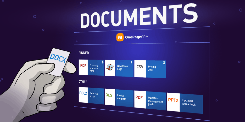 Documents: Accelerate Sales by Keeping Essential Company Files on One Page