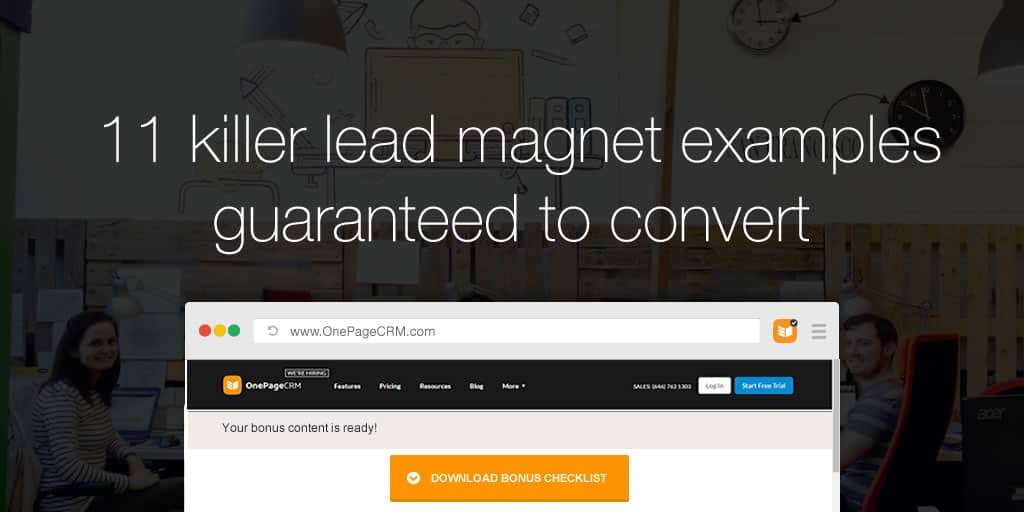 11 killer lead magnet examples guaranteed to convert