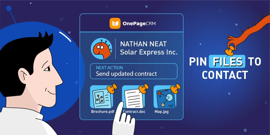 Pin Files to Contact: Eliminate the Search Time by Keeping Priority Attachments at Your Fingertips