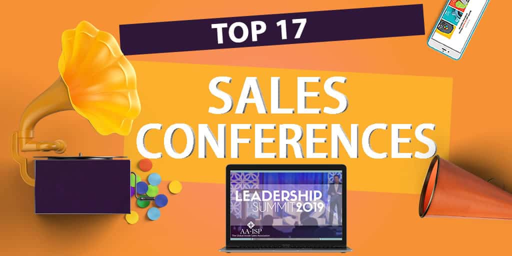 Top 17 Sales Conferences to attend in 2019