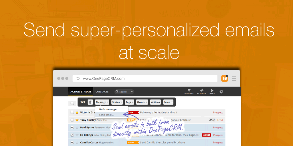 New feature: Send super-personalized emails at scale
