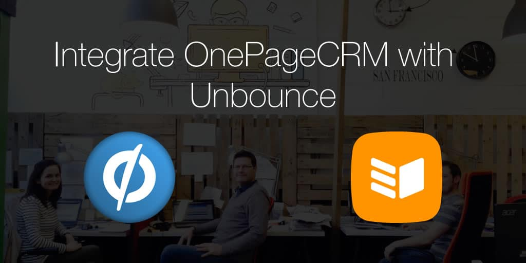 Integration with Unbounce